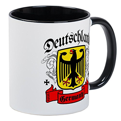 Deutschland Coat (CafePress - Deutschland Coat Of Arms Mug - Unique Coffee Mug, Coffee Cup)