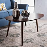 Walnut Coffee Table GDF Studio 299909 Caspar Walnut Wood Coffee Table,