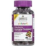 #5: Zarbee's Naturals Children's Elderberry Immune Support Gummies with Vitamin C, Zinc, Natural Berry Flavor, 42 Count (2 Pack) CXFG