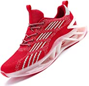JIASUQI Mens Running Shoes Blade Mesh Fashion Sneakers Athletic Tennis Sports Cross Training Casual Walking Sh