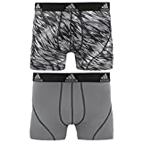 Sporting Goods : adidas Men's Sport Performance Climalite Trunk Underwear (2-Pack)