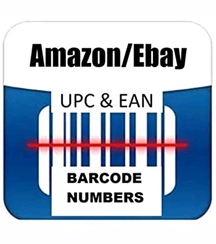 1000 UPC EAN Codes Certified Numbers Barcodes For Amazon Ebay Lifetime Guarante