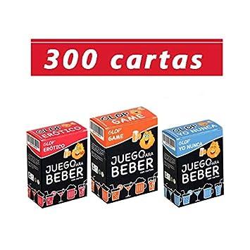 Glop 300 cartas - Juegos para Beber - Juego de Cartas para ...