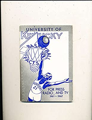 1961 University of Kentucky Basketball Press Media guide