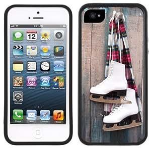 Iceland Flag Handmade iPhone 5 Black Bumper Plastic Case by supermalls