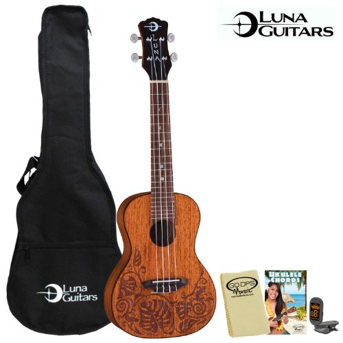 Luna Guitars Concert Ukulele Instruction product image