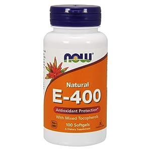 Now Supplements, Vitamin E-400 IU Mixed Tocopherols, 100 Softgels