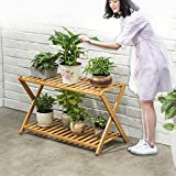 Flowerpot shelves cross type floor living room multi-storey balcony multiple meat flowerpot rack-A