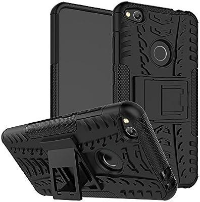 Amazon.com: Huawei P9 lite (2017) híbrido caso, Huawei P9 ...