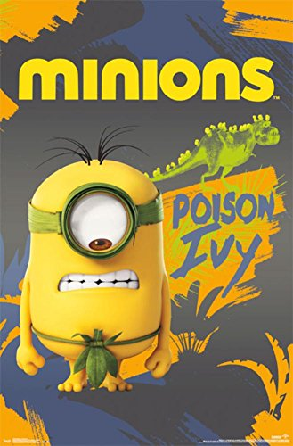 Trends International Despicable Me Minions Poison Ivy Wall Poster