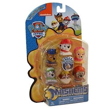 Paw Patrol Mashems Mashems Series 1 Value Pack Toy Figure Set of 6 ...