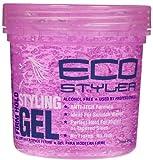 Eco Style Gel, Pink, 16 oz, 3 pk