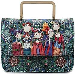 MSXUAN Fashion Cross body Shoulder Bag Handbags Backpack for Women