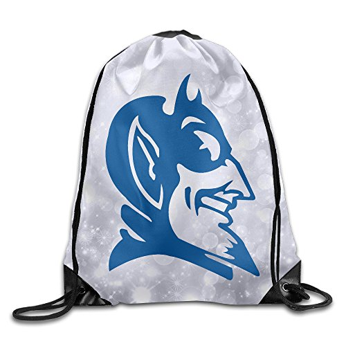 KSWFA Duke University Backpack Gymsack Gym Sack White