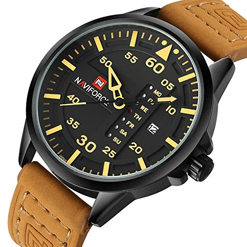 Renwangda Quartz Watches Leather Military product image