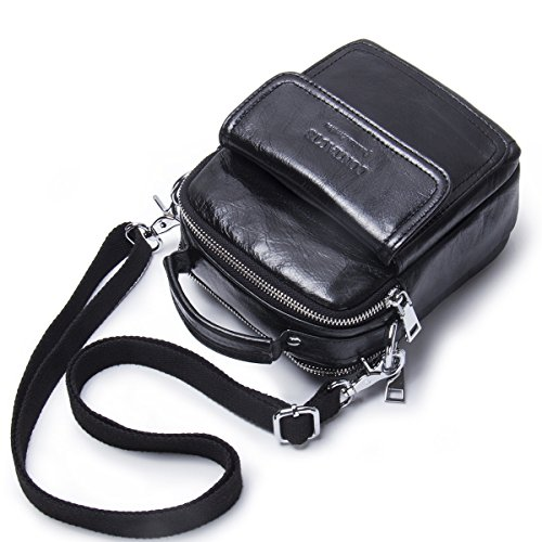 Contacts - Bolso al hombro para hombre negro negro talla única negro