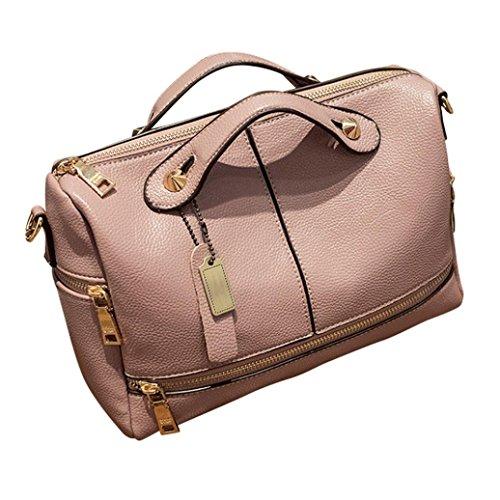 Hot sale!Todaies Women Handbag Messenger Tote Bags Famous Shoulder Bag 5 Colors (281521cm, Pink)