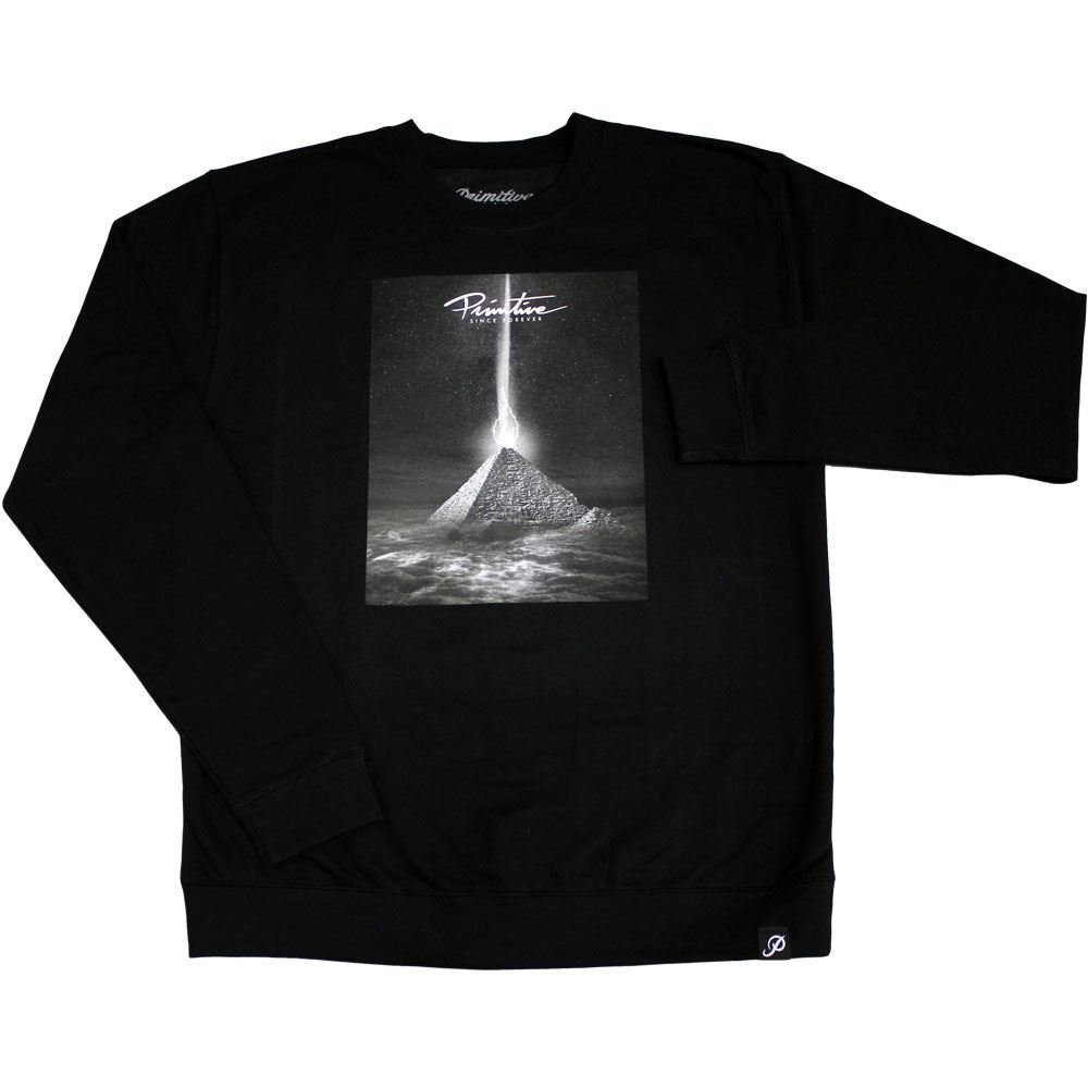 Primitive Apparel Pyramid Sweatshirt schwarz