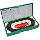 Aflas O-Ring Splicing Kit, 75A Durometer, Black, Standard Sizes, 5 Pieces, 7 Feet Each