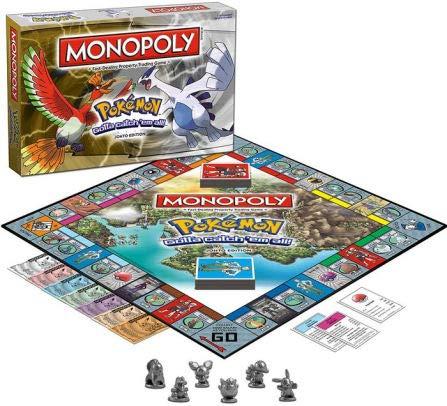 USAOPOLY Monopoly Game: Pokémon Johto Edition ()