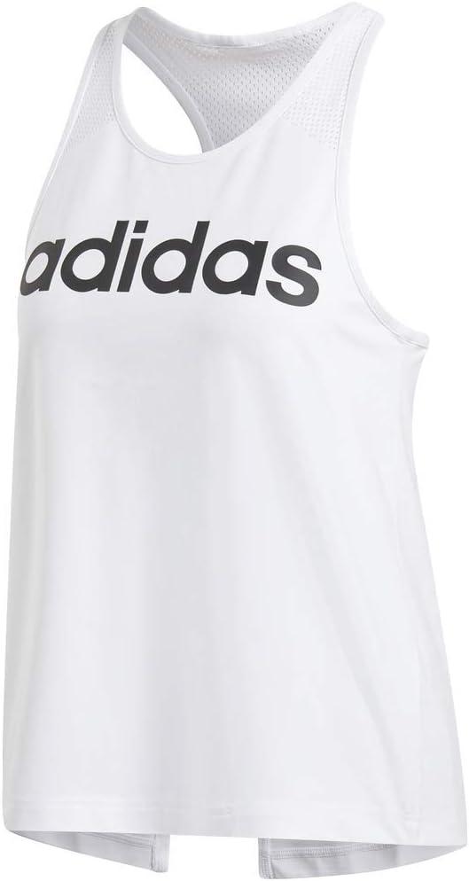 adidas Débardeur pour Femme Design 2 Move Logo Blanc