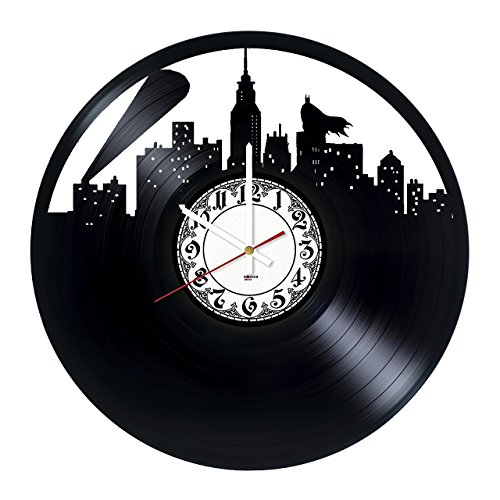 Movies TV Handmade Vinyl Record Wall Clock – Get unique living room wall decor – Gift ideas for friends, boys – Comics Unique Art Design