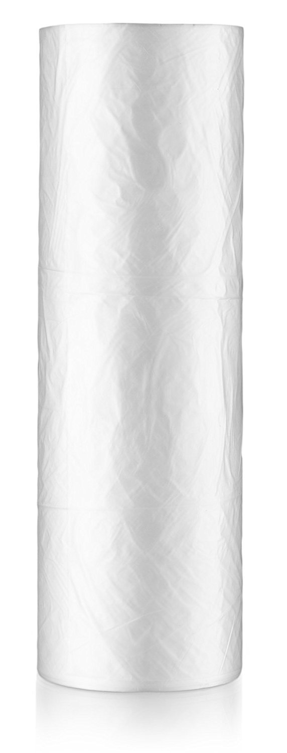 RBHK 16x20 Plastic Produce Bags on a Roll, Clear Produce Bags, Home Storage, Trash Bags, One Roll 350 Bags