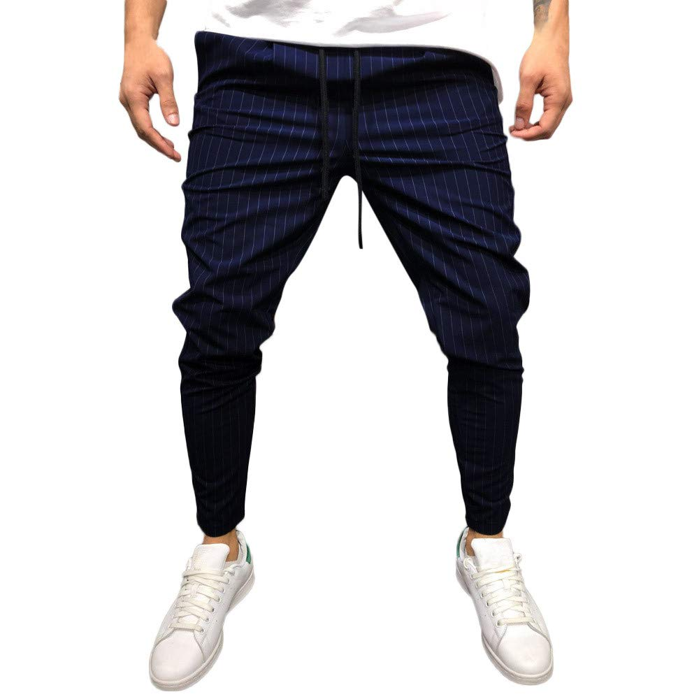 Pantalones Largos para Hombres Casual Corriendo Persona Que ...
