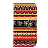 MOTO X Pure Edition Case ,Enjoy Sunlight [Tribe] [Kickstand Feature] Luxury Wallet PU Leather Folio Wallet Flip Case Cover Built-in Card Slots for Moto X Pure Edition/Moto X Style