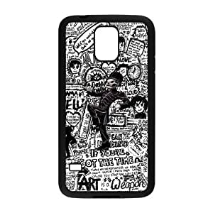 S5 Hard Case, MCR My Chemical Romance Slim Fit Hardshell Snap On Case Cover for Samsung Galaxy S5 by mcsharks