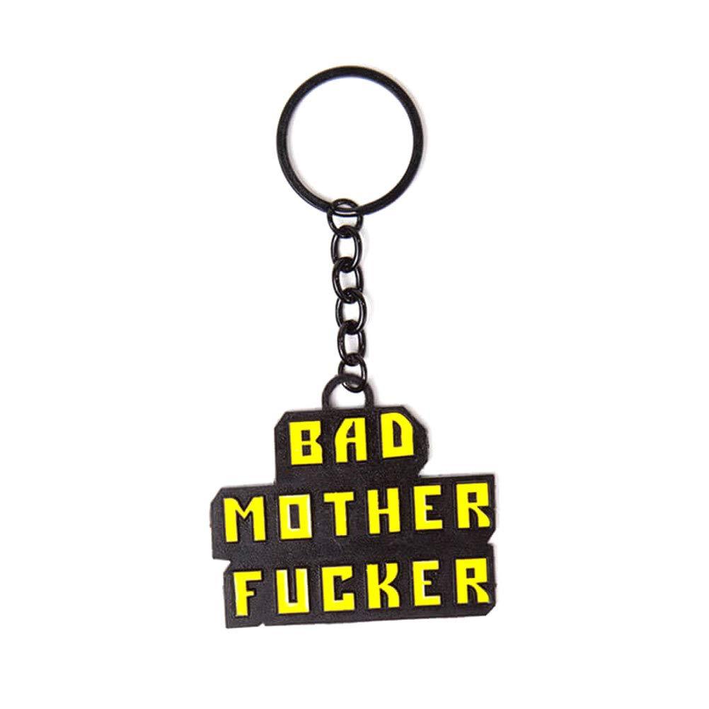 Pulp Fiction Keyring Keychain Bad Mother FCker Official Metal