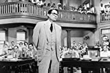 #5: To Kill A Mockingbird 24x36 Poster Gregory Peck iconic in court room