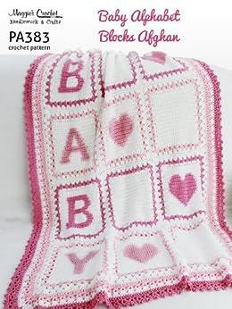 Abc Crochet Pattern Central : Crochet Pattern Babys Alphabet Blocks Afghan PA383-R ...
