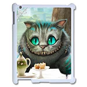 D-PAFD Cover Case Alice in Wonderland customized Hard Plastic case For IPad 2,3,4