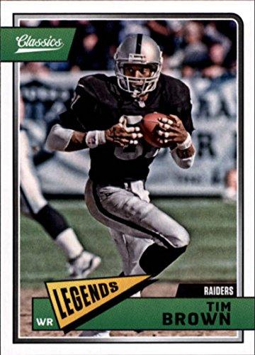 Tim Brown Nfl - 2018 Classics Football #167 Tim Brown Oakland Raiders Legend Panini NFL Card