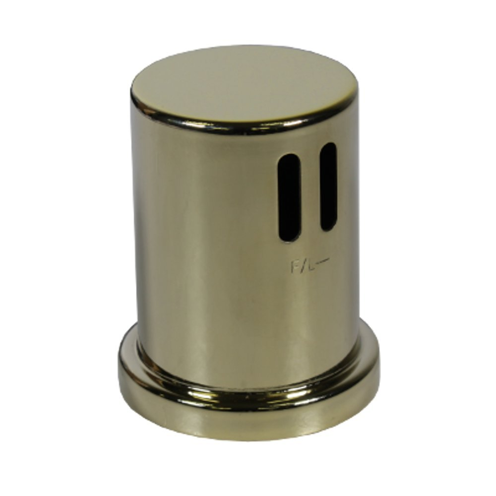 Polished Brass Cap for AG200 Series Dishwasher Airgaps