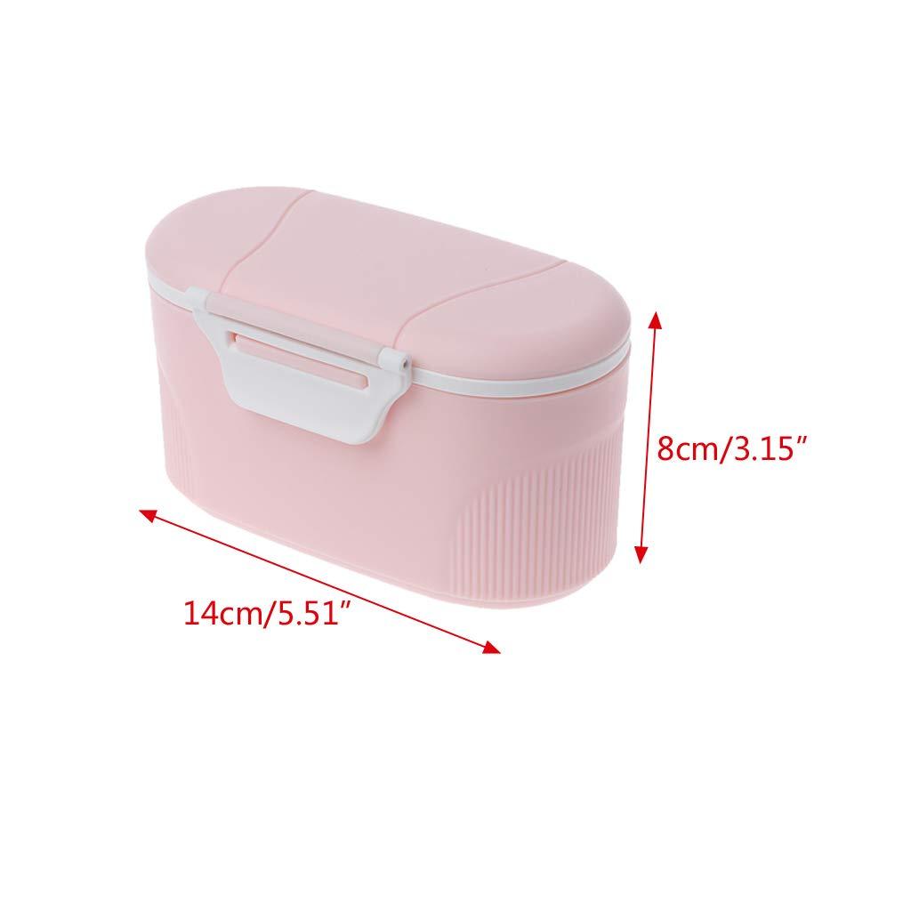 Distributeur de Lait en Poudre Portable Manyo Bo/îte Doseuse Lait Poudre Grande Contenance,sans BPA Rose