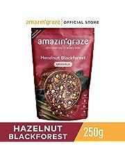 Amazin' GrazeHazelnut Blackforest Granola, Hazelnut dark chocolate granola, 250g