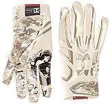 Under Armour Men's F5 – Limited Edition Football Gloves, Sandstorm/Sandstorm, XX-Large