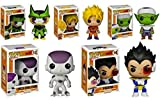 Funko POP! Anime: Dragonball Z Full Set of 5 Figures (Cell, Goku, Piccolo, Frieza & Vegeta)