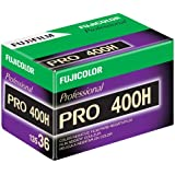 Fujifilm 16326078 pro 400H Color Negative Film 15473707 ISO 400, 35mm, 36 Exposures (Green/White/Purple)