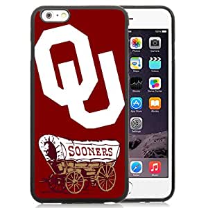 Fashion And Unique iPhone 6 Plus Cover Case NCAA Big 12 Conference Big12 Football Oklahoma Sooners 7 Protective Cell Phone Hardshell Cover Case For iPhone 6 Plus 5.5 Inch Black Phone Case