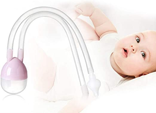 HS-ZM-01 Aspirador Nasal para bebés, succión bucal Limpieza Nasal ...