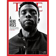 Time Magazine (February 19, 2018) Black Panther Chadwick Boseman Cover