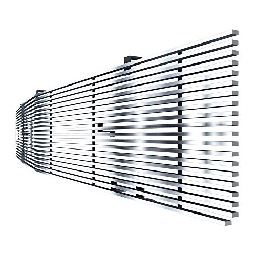 Off Roader eGrille 81-87 Chevy GMC Pickup/Suburban/Blazer Phantom Stainless Billet -