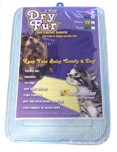 DryFur-Pet-Carrier-Insert-Pads-size-Small-195-x-125-Blue-2-pack