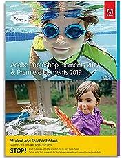 Adobe Photoshop Elements 2019 & Premiere Elements 2019 Student and Teacher