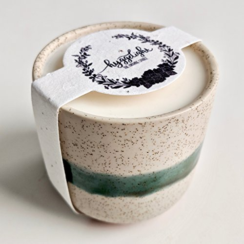 Fragrance Seed (Edith Collection 8.5oz - 100% Soy Hygge Candles, Reusable Ceramic + Terra Cotta Planter Pot Container, Eco Friendly, Essential Oil, Organic Fragrance, Non GMO Wildflower Seed Paper)