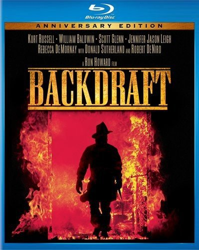 Blu-ray : Backdraft (Anniversary Edition, , Dubbed, Dolby, AC-3)