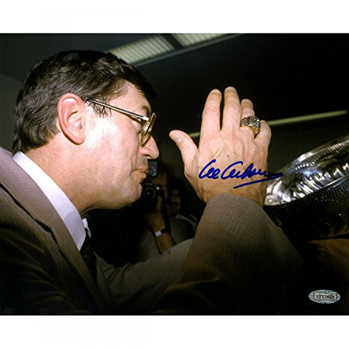 Steiner Sports Al Arbour Drinking From Stanley Cup 8x10